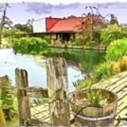 Do-00251 A Farm In Hunter Valley Poster