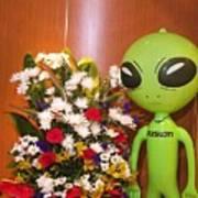 Do Aliens Get Hay Fever Poster