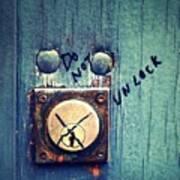 Do Not Unlock Poster