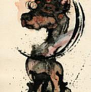 Doberman Poster by Mark M  Mellon