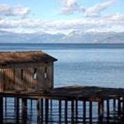 Dock Of Dreams South Lake Tahoe Ca Poster