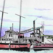 Docks N Boats Poster