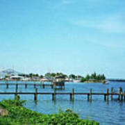 Docks On The Intracoastal Poster