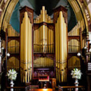 Dodd Pipe Organ Kent Town Adelaide Poster