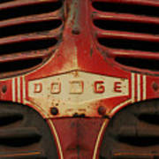 Dodge 41 Grill Poster by Steve Augustin