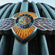 Dodge Brothers Emblem Jerome Az Poster