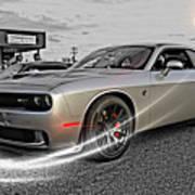 Dodge Hellcat Poster
