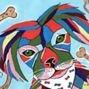 Doggie Dreams - Cute Animals Poster