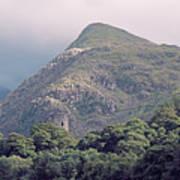 Dolbadarn Castle Close To Llanberis Pass Poster
