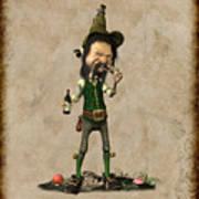 Doldhor - Leprechaun Painting  Poster