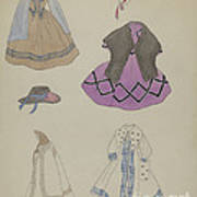 Doll And Wardrobe Poster
