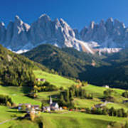 Dolomites, Italy #3 Poster