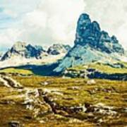 Dolomites, Monte Piana, Italy Poster