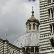 Dome In Siena Poster