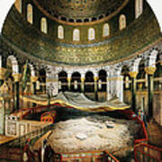 Dome Of The Rock, Jerusalem, 1862 Poster