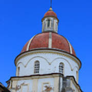Dome On A Church Poster