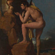 Dominique Ingres   Oedipus And The Sphinx Poster