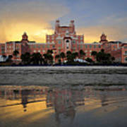 Don Cesar Reflection Poster by David Lee Thompson