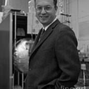 Donald Glaser, American Physicist Poster
