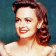 Donna Reed By John Springfield Poster