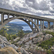 Donner Memorial Bridge Poster