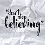 Don't Stop Believing Poster