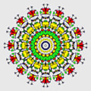 Doodle Mandala Poster