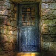Door - A Rather Old Door Leading To Somewhere Poster