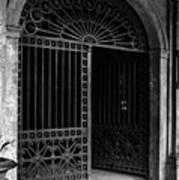 Door Of The Cabildo Poster
