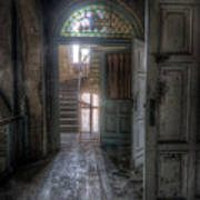 Door To Stairs Poster