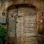 Door To The Secret Garden Poster
