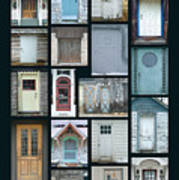 Doors Of Door County Poster Poster