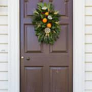 Doors Of Williamsburg 107 Poster