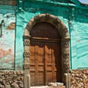 Doorway Quezaltenango Guatemala 1 Poster