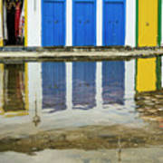 Doorways In Paraty  Poster