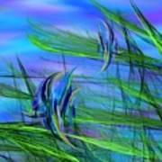 Dos Pescados En Salsa Verde Poster