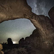 Double Arch Beneath The Stars Poster