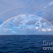 Double Rainbow Over The Atlantic Ocean Poster