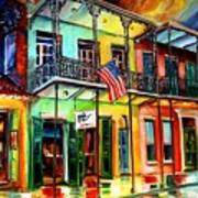 Down On Bourbon Street Poster