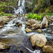 Downstream From Chittenango Falls Poster