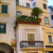 Downtown Amalfi Poster
