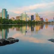 Downtown Austin Texas Skyline 2 Poster