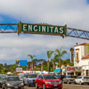 Downtown Encinitas Poster