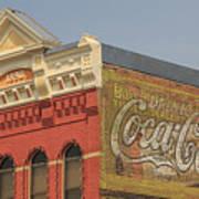 Downtown Livingston Montana Poster