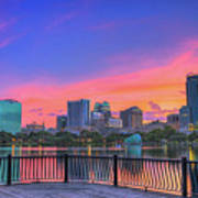 Downtown Orlando Florida  Poster