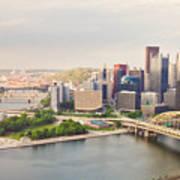Downtown Pittsburgh Pennsylvania Poster