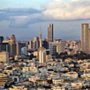 Downtown Tel-aviv Skyline Poster
