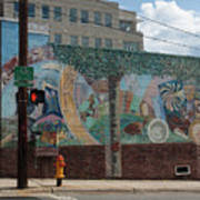 Downtown Winston Salem Series V Poster