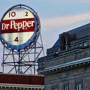 Dr Pepper Sign Poster