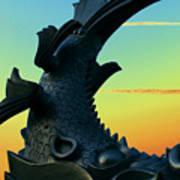 Dragon Fish Poster